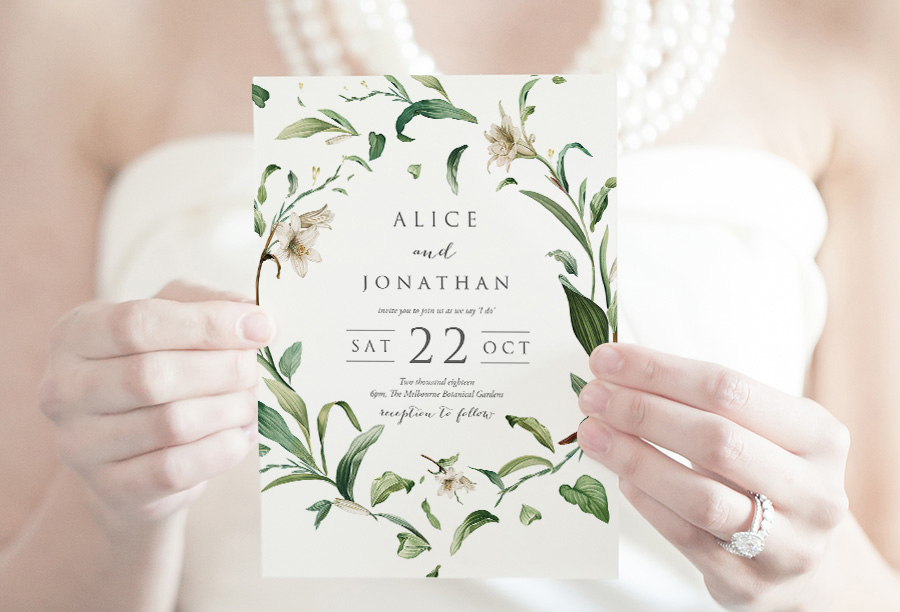Wedding Invitations Product categories Fabled Papery