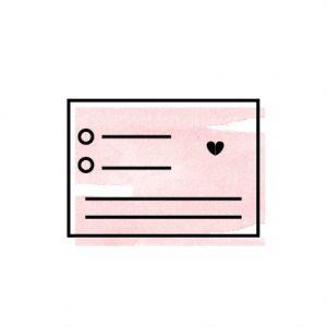 RSVP Card with Envelope