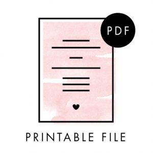 A3 Printable File
