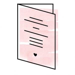 5×7″ Card (Folded)