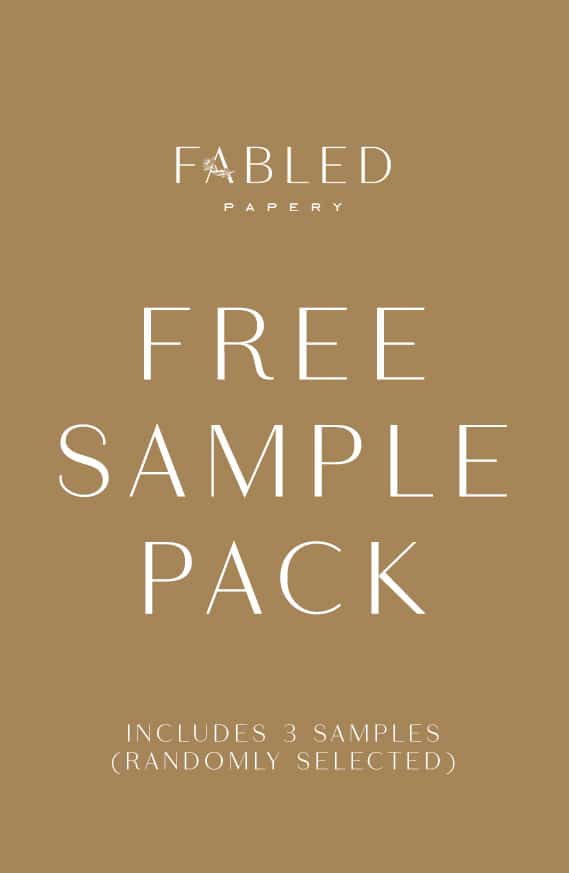Free Sample Pack (just pay post)